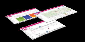wastebox Webportal Screen für das Muldentracking